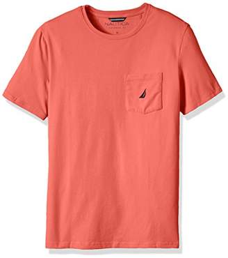 Nautica Men's Solid Pocket T-Shirt