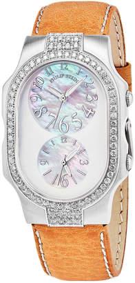 Philip Stein Teslar Tesler Diamond Watch