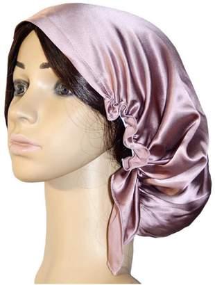 Mulberry October Elf Women Sleep Cap 100% Slk Nght Cap Head Cover