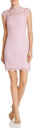 Aqua Scalloped-Lace Sheath Dress - 100% Exclusive