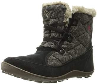 Columbia Women's Minx Shorty Omni-Heat Wool Snow Boot $65 thestylecure.com