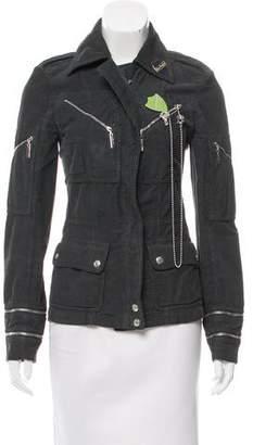 Christian Dior Embellished Corduroy Jacket