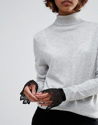 ASOS Lace Cuffs $9.50 thestylecure.com