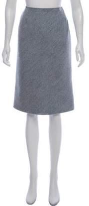 Oscar de la Renta Knee-Length A-Line Skirt Knee-Length A-Line Skirt