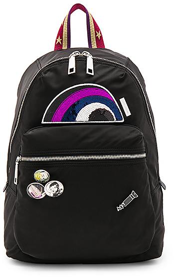 Marc Jacobs Julie Verhoeven Nylon Biker Backpack in Black.