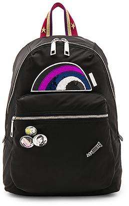 Marc Jacobs Julie Verhoeven Nylon Biker Backpack in Black. $395 thestylecure.com