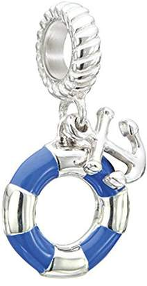 Chamilia Sterling Silver Anchors Aweigh Bead Charm