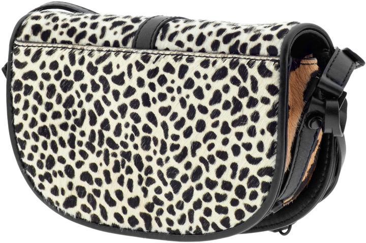 Derek Lam 10 Crosby Mixed Leopard Print Lola Bag