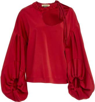 Hellessy Sloane Cutout Blouse
