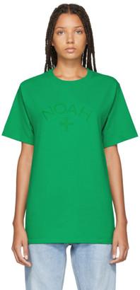 Noah NYC Green Core Logo T-Shirt