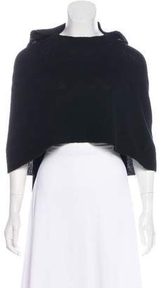 Band Of Outsiders Wool Cropped Capelet