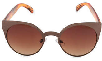 Steve Madden 50mm Round Sunglasses