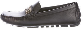 Louis Vuitton Leather Driving Loafers $345 thestylecure.com