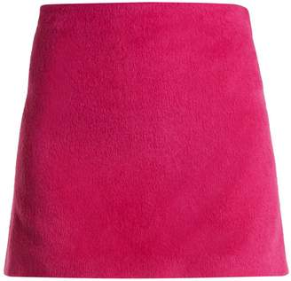 Helmut Lang Brushed Magenta 2000 mini skirt