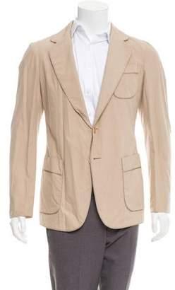 Bottega Veneta Deconstructed Two-Button Blazer w/ Tags