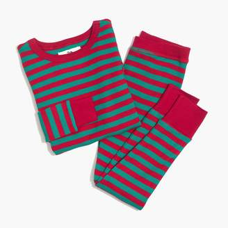 J.Crew Kids' thermal sleep set in walter stripe