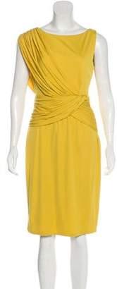 Giambattista Valli Silk Draped Dress