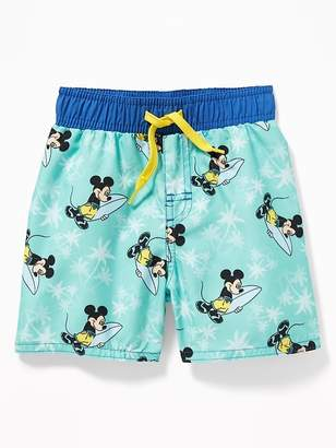 ee6bcc6fc4ba8 Old Navy Disney© Mickey Mouse Swim Trunks for Toddler Boys