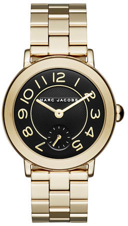 Marc Jacobs Marc Jacobs Riley Stainless Steel Watch