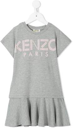 Kenzo printed logo T-shirt dress
