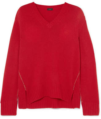 Joseph Cashmere Sweater - Red