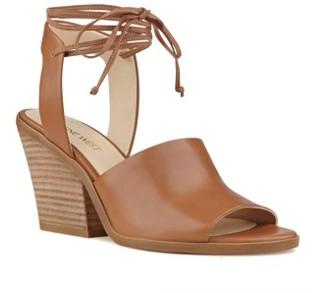 Women's Nine West Yanka Ankle Tie Sandal $99.95 thestylecure.com