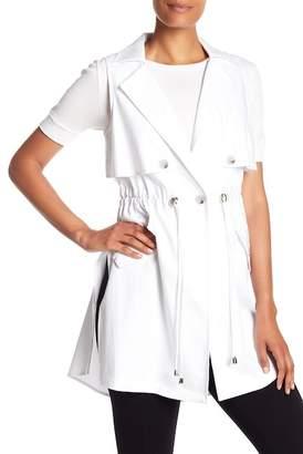Laundry by Shelli Segal Drawstring Waist Vest