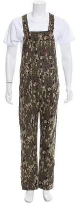 Levi's Supreme x Camouflage Denim Overalls