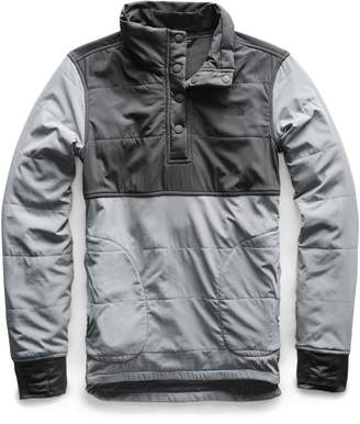 The North Face Mountain Insulated Snap Pullover Jacket