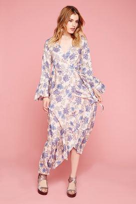 FOREVER 21+ Selfie Leslie Floral Maxi Dress $58 thestylecure.com