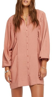 Women's Free People Fade Away Shirtdress $128 thestylecure.com