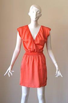 Twelfth Street Elastic Wrap Dress