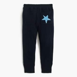 J.Crew Girls' knit sweaterpant in stars