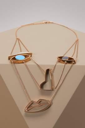 Stella McCartney Face necklace
