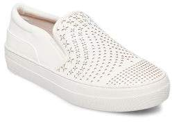 Design Lab Gavin Perforated Slip-On Sneakers