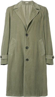 Massimo Alba single-breasted overcoat