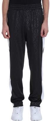 Fila Black Cotton Reggie Trousers F Box