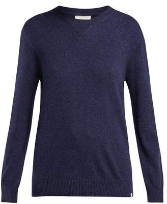 Derek Rose Finley Cashmere Sweater - Womens - Navy