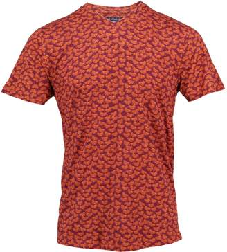 Mulberry Lords of Harlech - Maze Tee In Leaves