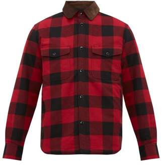 Rag & Bone Jack Padded Checked Cotton Flannel Shirt - Mens - Red Multi