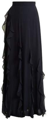 Max Mara Serafin Skirt - Womens - Navy