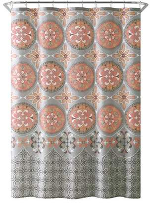 Winston Porter Bannock Medallion Boho Printed Shower Curtain