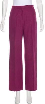 Etro Wool High-Rise Pants