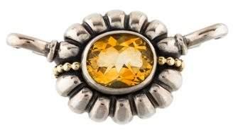 Lagos Citrine Caviar Pendant