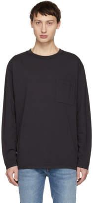Jeanerica Grey Oversized Mino 180 Long Sleeve T-Shirt