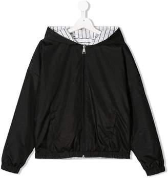 Karl Lagerfeld Paris TEEN reversible rain jacket
