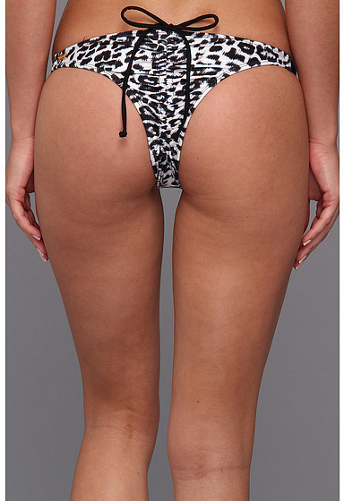 GUESS Jungle Heat Strap Bikini Bottom