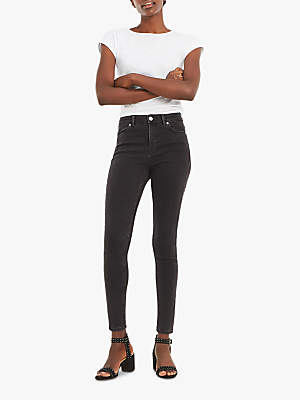 Lily Skinny Jeans, Mid Grey