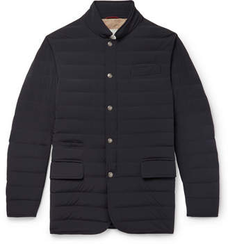 Brunello Cucinelli Slim-Fit Quilted Shell Down Jacket