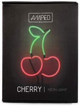 Co Amped And Cherries Neon Desk Lamp